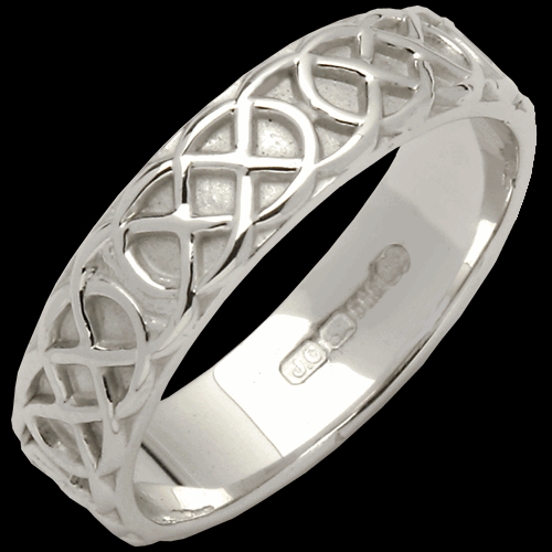 Narrow Sheelin Wedding Band