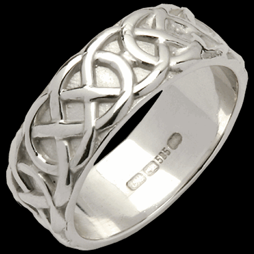 Wide Sheelin Wedding Band