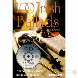100 Irish Ballads Volume 2 (Book & CD)