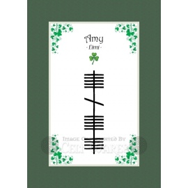 Amy - Ogham First Name