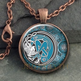 Arianrhod Round Domed Pendant