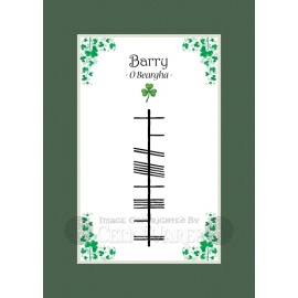 Barry - Ogham Last Name