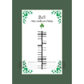Bell - Ogham Last Name