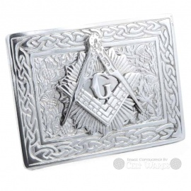 Belt Buckle - Star Masonic