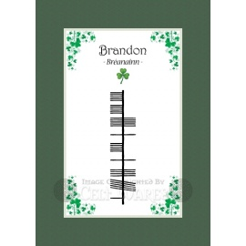 Brandon - Ogham First Name