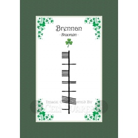Brennan - Ogham First Name