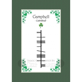 Campbell - Ogham Last Name