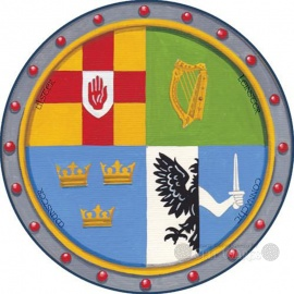 Celtic Coasters 4pk - 4 Provinces