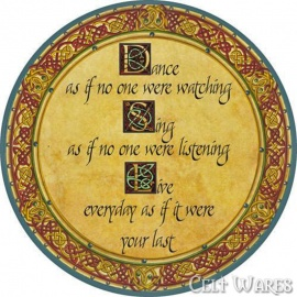 Celtic Coasters 4pk Dance