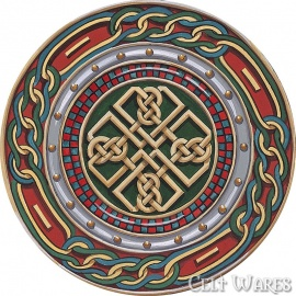 Celtic Coasters 4pk Celtic Shield