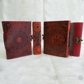 Celtic Sun Journal (Red)