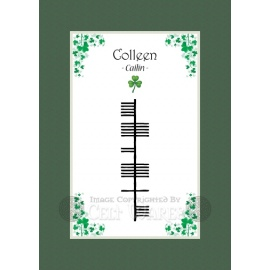 Colleen - Ogham First Name