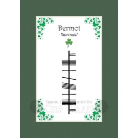 Dermot - Ogham First Name