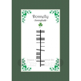 Donnelly - Ogham First Name