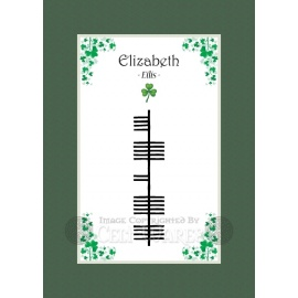 Elizabeth - Ogham First Name
