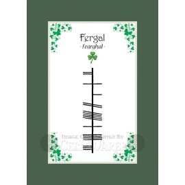 Fergal - Ogham First Name
