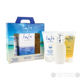Inis Gift Pack (30ml; Bath Gel; Body Lotion)
