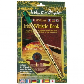 Irish Tin Whistle Pack (Book & CD)