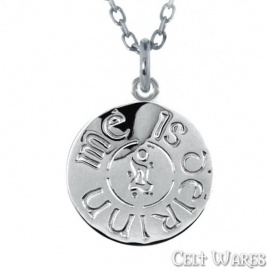 Is d'Eirinn Me (I Am of Ireland) Pendant (Silver)