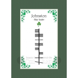 Johnston - Ogham Last Name