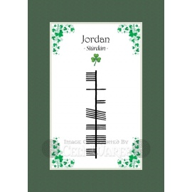 Jordan - Ogham First Name