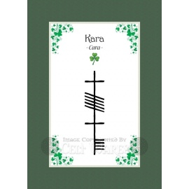 Kara - Ogham First Name