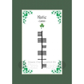 Katie - Ogham First Name