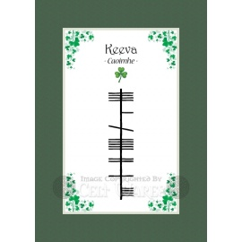 Keeva - Ogham First Name