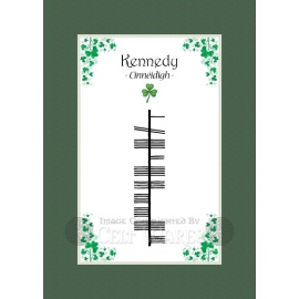 Kennedy - Ogham First Name
