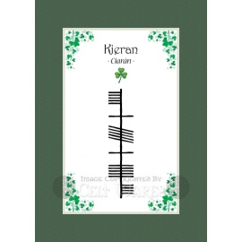 Kieran - Ogham First Name