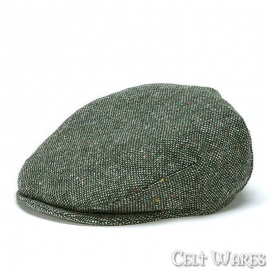Moss Green Tweed Cap