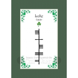 Luke - Ogham First Name