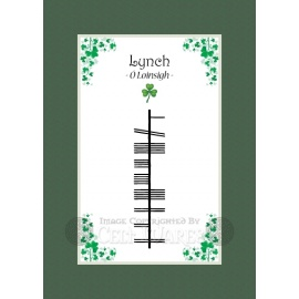 Lynch - Ogham Last Name