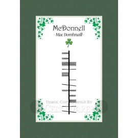 McDonnell - Ogham Last Name