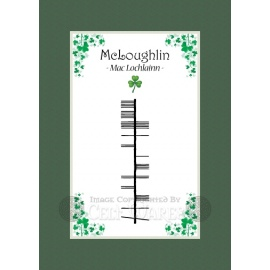 McLoughlin - Ogham Last Name