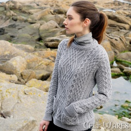 Merino Sweater with Pockets
