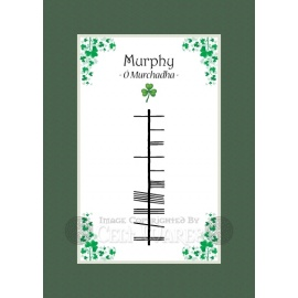 Murphy (Ancient) - Ogham Last Name