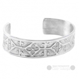 Pewter Bangle - Medieval