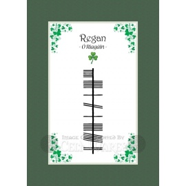 Regan - Ogham Last Name