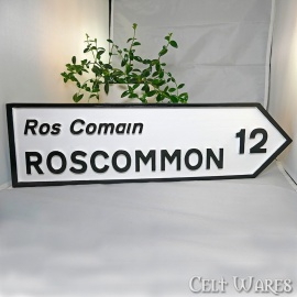 Roscommon Road Sign