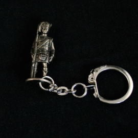 Scottish Figure Keyring (Corporal)