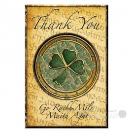 Shamrock Thank-You Notecards - 8 Pack