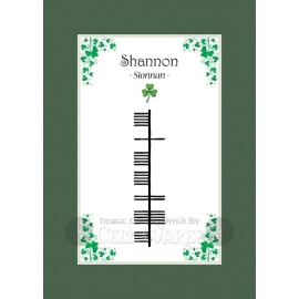 Shannon (Girl) - Ogham First Name