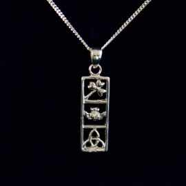Symbols of Ireland Pendant