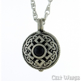 Black Stone Necklace Diffuser