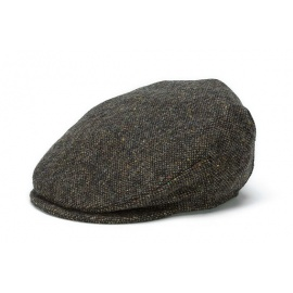 "Tweed Brown ""Salt & Pepper"" Cap"