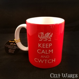 Welsh Keep Calm Mug