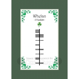 Whelan - Ogham Last Name