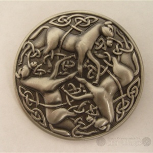 Celtic Horse Brooch