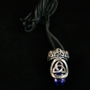 Celtic Trinity Knot Bottle Pendant